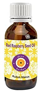 Deve Herbes Pure Red Raspberry Seed Oil 15m 100% Natural Cold Pressed & Undiluted