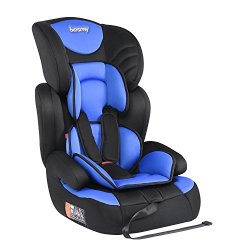 Besrey Car Seat Children Group 1 2 3 Car Booster Fit From