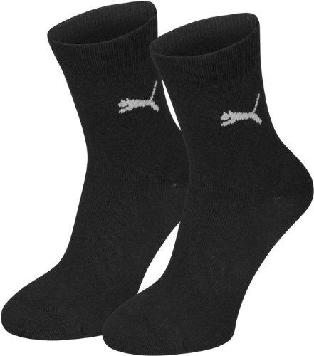 PUMA Kinder Kinder Socke separate tees 2P, schwarz (Black), Gr. 31-34