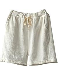 460846245f073 Amazon.es  Cinnamou-Mujer - Pantalones cortos   Mujer  Ropa