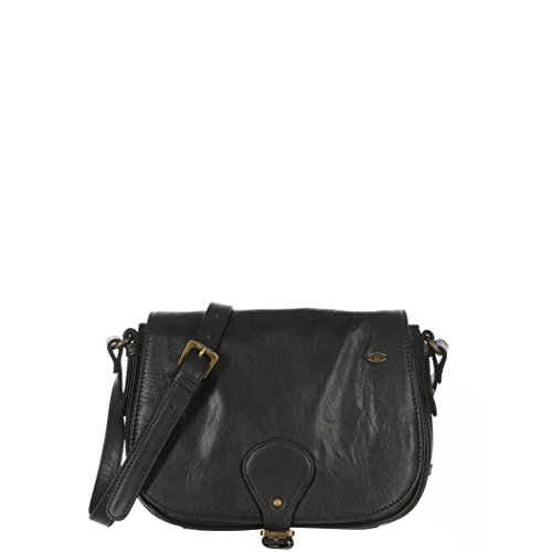 Animal Lori Leather X Body Womens Handbag Black