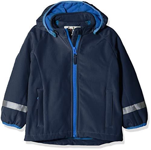 Playshoes Baby-Mädchen Kinder Softshell Jacke, Blau (Marine 11), 92