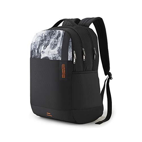 American Tourister Spin 29 Ltrs Black Laptop Backpack (FS0 (0) 09 002) Image 2