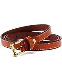 simple peau gaine femmes bien decorative tenue décontractée mesdames cuir  petite ceinture ... 7003a1d43f3
