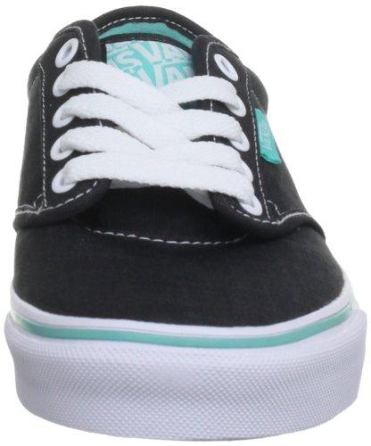 Vans Atwood, Sneaker Uomo Nero (Schwarz (Black/Turquoise))