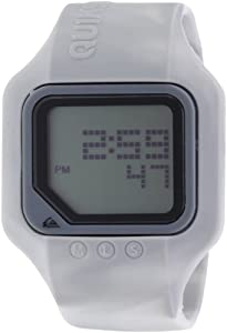 Quiksilver M167DS-57T - Reloj digital para hombre con correa de plástico, color blanco de Quiksilver