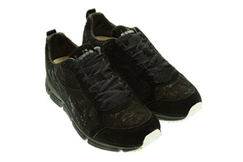 DIADORA HERITAGE donna sneakers basse 161931 01 80013 SYMBOL W LACE Nero