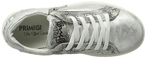 Primigi Mädchen Pho 7574 Low-Top Silber (ARGENT/BCO-NERO)