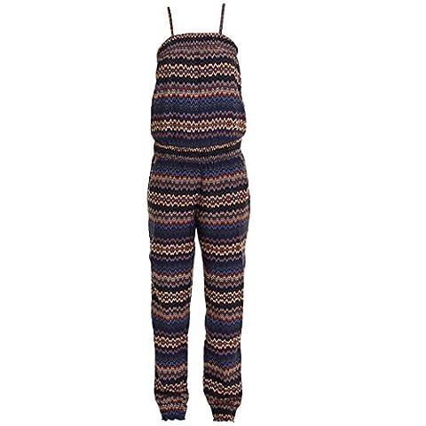 Jumpsuit Einteiler für Mädchen Blau 146/152
