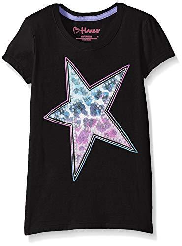 Hanes Girls' Short Sleeve Graphic T-Shirt - Hanes Kinder T-shirt