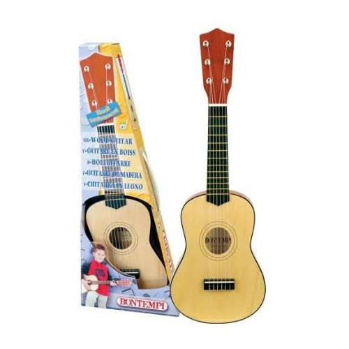 Preisvergleich Produktbild Bontempi Klassische Holzgitarre mit 6 Saiten GSW55.2