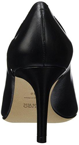 Hugo Fleur 10195625 01, Scarpe con Tacco Donna Nero (Black 1)