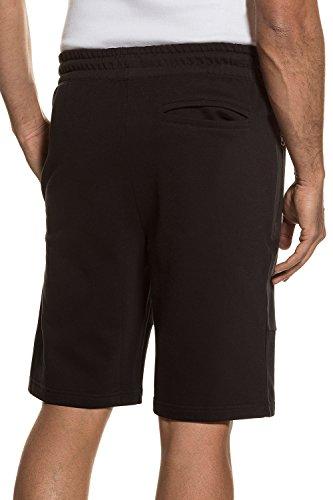 JP 1880 Große Größen Herren große Größen bis 7XL | Bermuda | Sportshorts, Cargo-Style, Sweat-Shorts | elastisch, Taschen | schwarz, dunkelblau, oliv | 711299 Schwarz