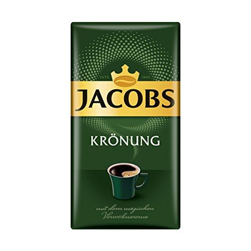 Jacobs Filterkaffee Krönung Klassisch, 12er Pack, 12 x 500 g gemahlener Kaffee