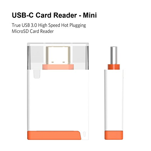 Galleria fotografica COOSA USB Type-C Reader 3.0 High Speed Hot Plugging Micro SD Card (bianco)