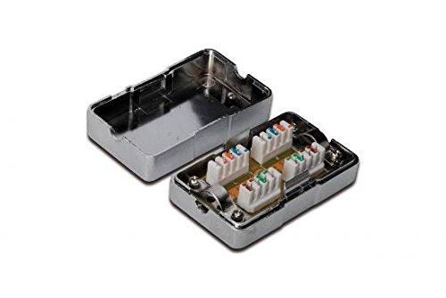 DIGITUS Professional Verbindungsmodul für Twisted Pair Kabel, CAT 6, LSA, geschirmt - Cat5-kabel Verlängern