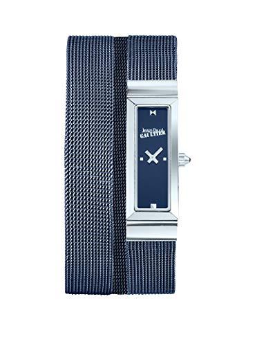 Montre Femme - Jean Paul Gaultier - Cote de Maille - Bracelet Acier Mesh Bleu - 33 * 13,5mm - 8503904