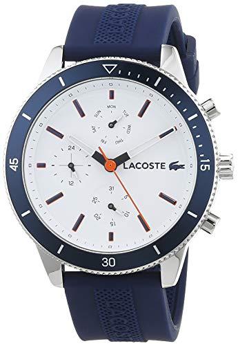 39920d41c21b Lacoste Reloj Multiesfera para Hombre de Cuarzo con Correa en Silicona  2010993