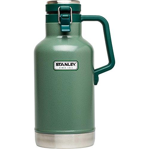 Stanley Classic Vakuumisolierter Growler 167 ml, Unisex, 10-01941-001, Hammertone Green, 2 Quart