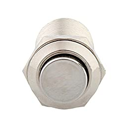 Lovelifeast 12Mm 12V Push Button Selbstsperrenden Metall Schalter Für Auto Kfz Fahrzeug Auto Durable 2A250V Mini