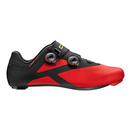 Mavic Cosmic Pro Rennrad Fahrrad Schuhe rot/schwarz 2017
