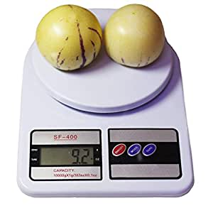 Krevia Electronic Digital 10 Kg Weight Scale Lcd Kitchen Weight Scale Machine,White