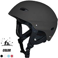 Vihir Casco Antideslizante de Skate Multi Sports Skate Scooter Hombre Casco Dial, Negro/M