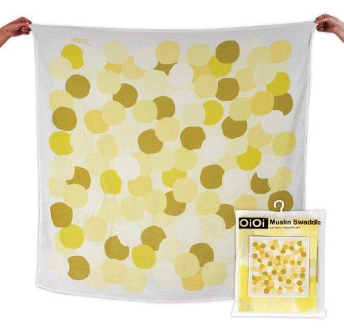 oioi-wickeltuch-aus-musselin-konfetti-punkt-gedruckt-digital-natur-mit-multi-yellow-dot
