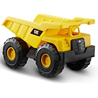 Caterpillar- Dump Truck Vehiculo de construcción, Color Amarillo (Funrise International 82021)