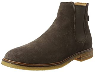 Clarks Men's Clarkdale Gobi Chelsea Boots, Brown (Dark Brown Suede), 9 UK (B06XCH7ZRY)   Amazon price tracker / tracking, Amazon price history charts, Amazon price watches, Amazon price drop alerts