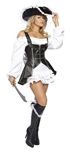 (DLucc Halloween-Piraten- Kleid Trend in Europa und Amerika müssen- Lederweste Spielshow Uniformen Kleidung , #1)