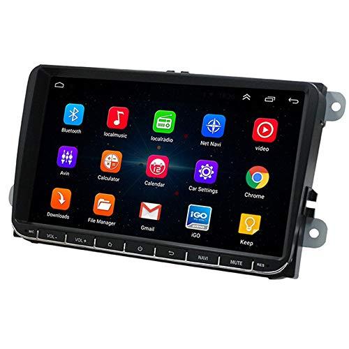 SMFYY Car Navigation, 9-Zoll-Android 8.1-System, 16G Speicher 1024 * 600 Pixel eingebaute WiFi-Radio-Funktion, Unterstützung für mehrere Sprachen
