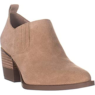 DKNY Womens Roxy – Shootie Leather Closed Toe Ankle Fashion Boots