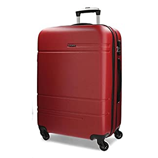 Movom Matrix Maletas y trolleys, 69 cm, 74 litros, Rojo