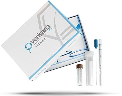 Histamin-Intoleranz Test & -Unverträglichkeit Labortest | Stuhltest | Histaminwert bestimmen | Feststellung von Ursachen allergischer Reaktion wie Durchfall und Übelkeit | Verisana