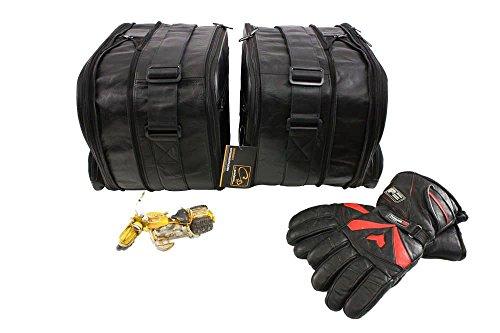 Preisvergleich Produktbild Koffer-Innentaschen aus LEDER für BMW R1200RT-LC K1600GT K1600GTL (R1200 RT LC K1600 GT GTL)