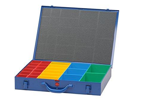 hünersdorff Metall-Kleinteile-Koffer, 1 Stück, dunkelblau, 620800