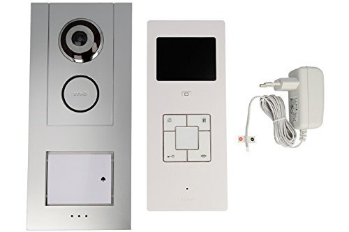 Price comparison product image m-e Vistus VD-6310 3.5-inch Monitor 1-Family House Video-Doorphone Complete Set by m-e