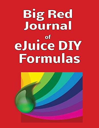 Big Red Journal of eJuice DIY Formulas