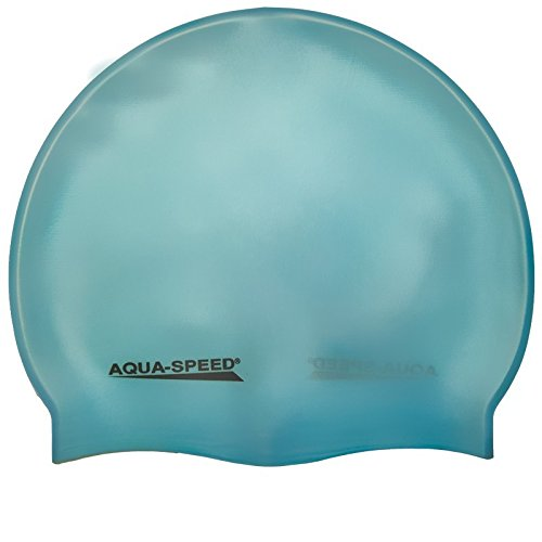 Aqua-Speed - Bademütze/Schwimmkappe - Super-Stretch Mega 100-29 (türkis)