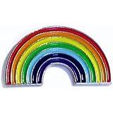 Metallo smaltato Pin Badge Rainbow Warrior CND pace