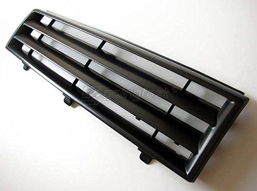 Preisvergleich Produktbild Kühler- Sport- Front- Rippen- Grill ohne Emblem Schwarz Eintragungsfrei