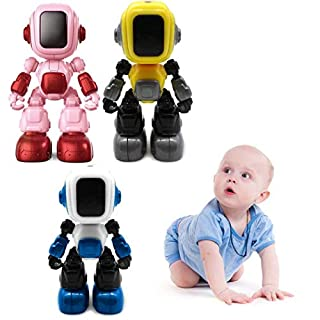 Oplon Kinderkinder-Roboter-Spielzeug, das musikalisches Geburtstags aufzeichnet Modell- & Modelleisenbahnbau