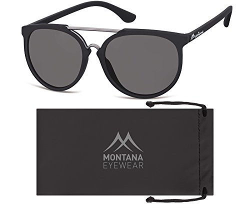 Montana S32, Lunettes de Soleil Mixte Multicolore - Multicoloured (Black/Smoked Lenses)