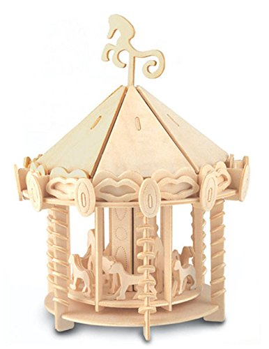 Carousel - QUAY Woodcraft Construction Kit FSC