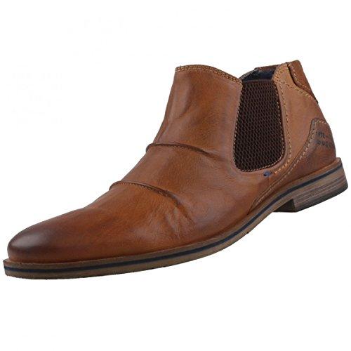 bugatti-herren-312173313200-chelsea-boots-braun-cognac-40-eu
