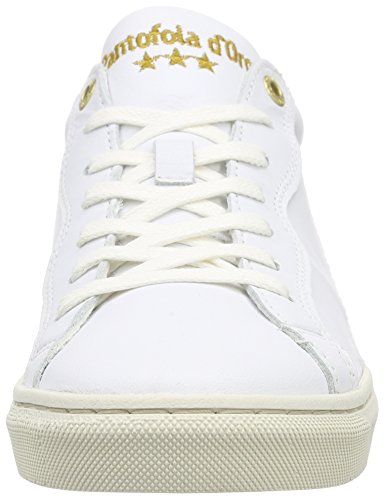 Pantofola d'Oro Gianna, Baskets Basses femme Blanc - Weiß (Bright White)