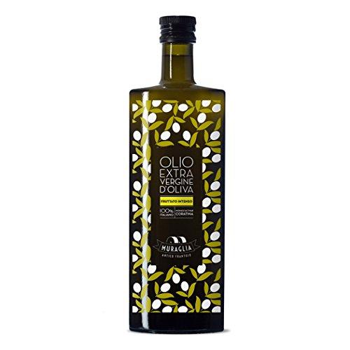 Olio extra vergine di oliva monocultivar coratina fruttato intenso 500ml