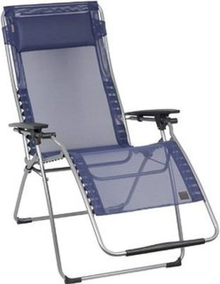 LAFUMA fUTURA fauteuil relax sTABIELO-couleur-bleu-oUTDOOR chaise longue pliable et réglable-charge maximale : 150 kg-sTABIELO armature contre supplément disponible avec holly fächerschirmen-dISTRIBUTION-holly sunshade ®-innovation brevetée en allemagne