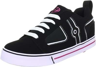 Heelys Helix, Chaussures de skate fille - Noir (Black White Pink), 11 Child UK